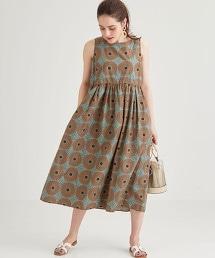 【先行預購】[Le glazik]LE GLAZIK SC 印花洋裝