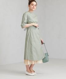 FFC Tavii 假兩件 不規則下擺 洋裝