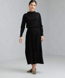 FFC 百褶裙 針織 洋裝