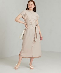 FFC 泡泡紗 襯衫式洋裝