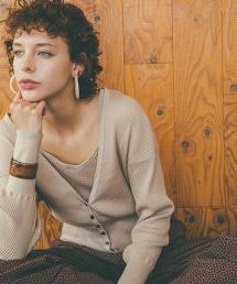 『BRACTMENT』棉 羅紋  V領 對襟外套
