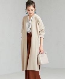 [可手洗] FFC 四平織法 長版 對襟外套