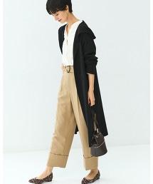 [可手洗] FFC HOODED 長版對襟外套