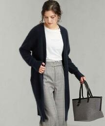 FFC 絨毛長版對襟外套