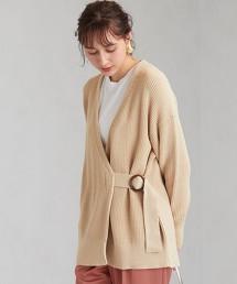 [可手洗] FFC 單畦邊 扣環對襟外套