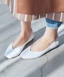 【先行預購】◆CFC 方楦頭平底鞋(鞋跟1.0cm)