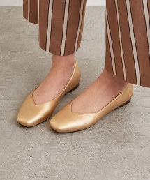 ◆CFC 方楦頭平底鞋(鞋跟1.0cm) OUTLET商品