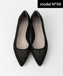 ◆NO.00 FFC 尖頭鏤空平底鞋(1.5cm)