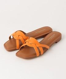 ◆CFC 方頭平底涼鞋(1.5cm高)