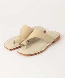 ★CFC 方頭 夾腳涼鞋(鞋跟1.5cm)