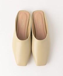 ★FFC 方頭平底穆勒鞋(1cm高)