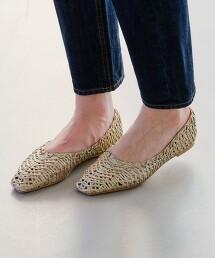 ◆FFC 方楦頭 網眼平底鞋 (鞋跟1cm)