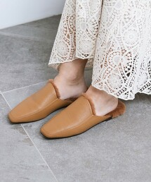 【本田翼著用】方楦頭 裸跟鞋
