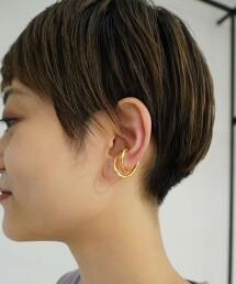 FM W 橢圓 耳骨夾 韓國製