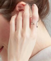 SC W線 2WAY 耳骨夾 & 戒指