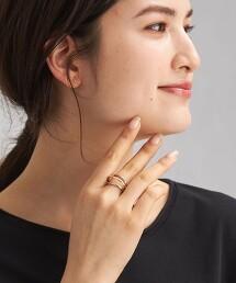 SC 雙色 GD/SV 2WAY 耳骨夾 戒指