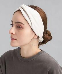 仿麂皮 髮帶 頭巾