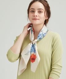 FFC 蠶絲 大方巾 領巾 日本製