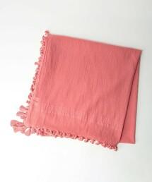 CFC 棉質 流蘇 圍巾