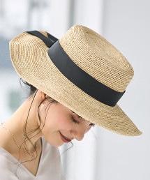 CFC 拉菲草 草帽 平頂帽