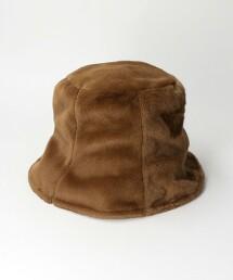 仿皮草 水桶帽