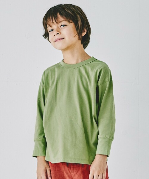 天竺棉 套頭衫 長袖T恤