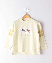 恐龍圖案 長袖T恤