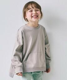 【KIDS】GLR  口袋長袖T恤