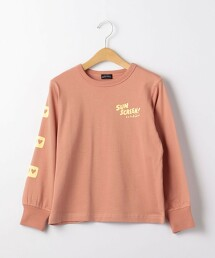 TJ GLR 保持社交距離 長袖T恤 100cm-130cm -機洗-