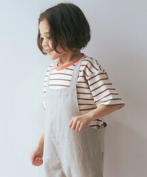 ◆棉質 橫條紋T恤