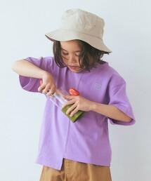 【KIDS】不規則剪裁 T恤