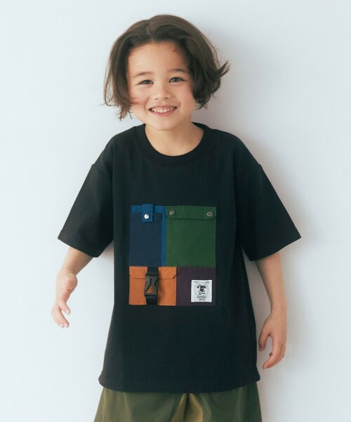 【KIDS】〔特別訂製〕TJ EX grn outdoor 口袋TEE / T恤