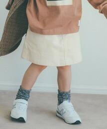 【KIDS】燈心絨褲裙