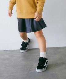 TJ 仿皮革 褲裙 100cm-130cm -手洗-