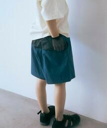 【KIDS】網布口袋 短褲