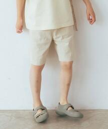【KIDS】純棉 直條紋短褲