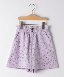 【KIDS】蕾絲褲裙
