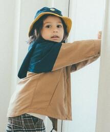 〔防潑水〕〔可手洗〕【KIDS】4WAY 夾克