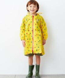 GLR 雨滴印刷雨衣