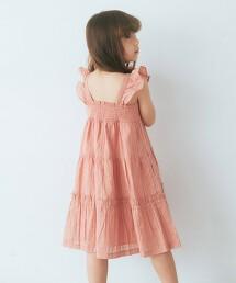 【KIDS】多臂織 層次風洋裝