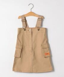 【KIDS】〔特別訂製〕UNIVERSAL OVERAL JUMPER SKIRT 吊帶裙  OUTLET商品