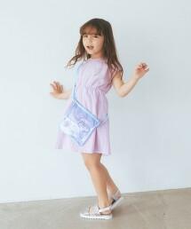 【KIDS】GLR 鏤空刺繡無袖洋裝
