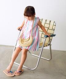 【KIDS】TJ GLR 直條紋洋裝