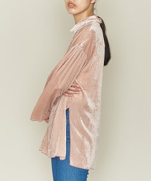 ASTRAET 天鵝絨 高領 套頭上衣 OUTLET商品