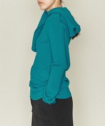 ASTRAET 14G 羅紋織針織連帽衫
