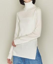 <ASTRAET>W 16G 高領 羅紋針織上衣