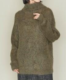 <ASTRAET>MO/NY 8G 高領套頭毛衣2 日本製