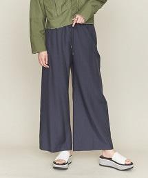 ASTRAET 銅氨纖維/棉 輕便 寬褲