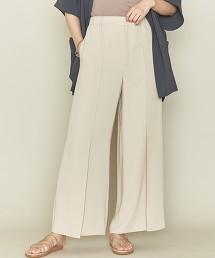 <ASTRAET>後腰鬆緊 輕便寬褲 日本製