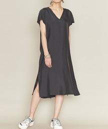 <ASTRAET>開衩 V領 長版束腰上衣 日本製